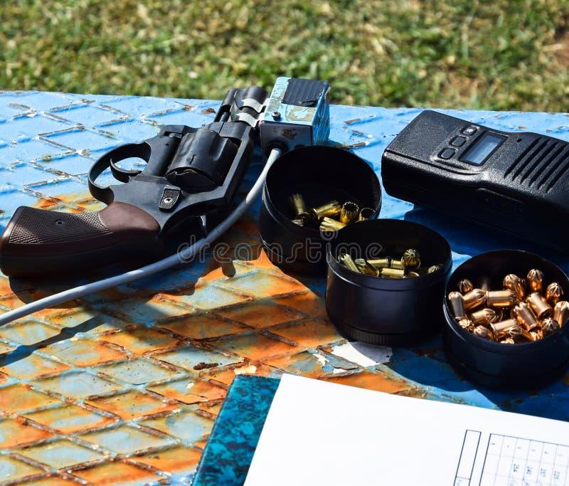 Начинать оружие стоковая фотография rf