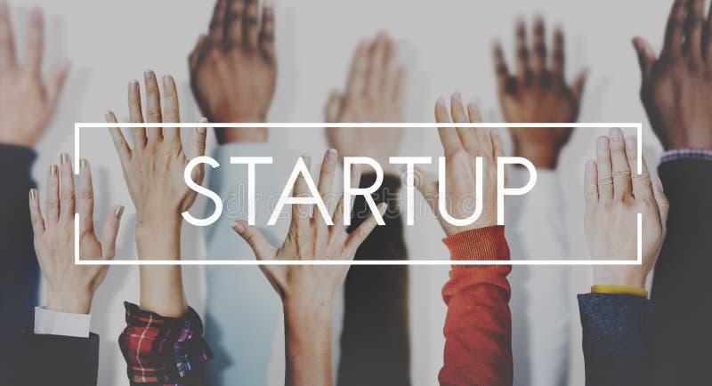Начните вверх предпринимательств концепцию возможности старта стоковое изображение rf