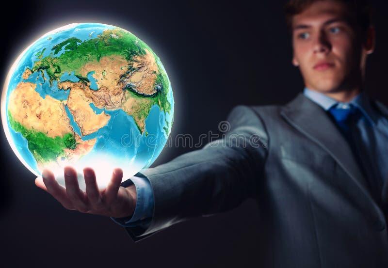 Download Наша планета земли стоковое фото. изображение насчитывающей гловально - 41650428
