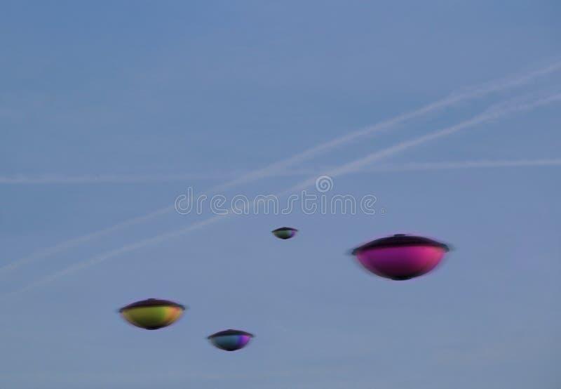 Нашествие UFO стоковая фотография