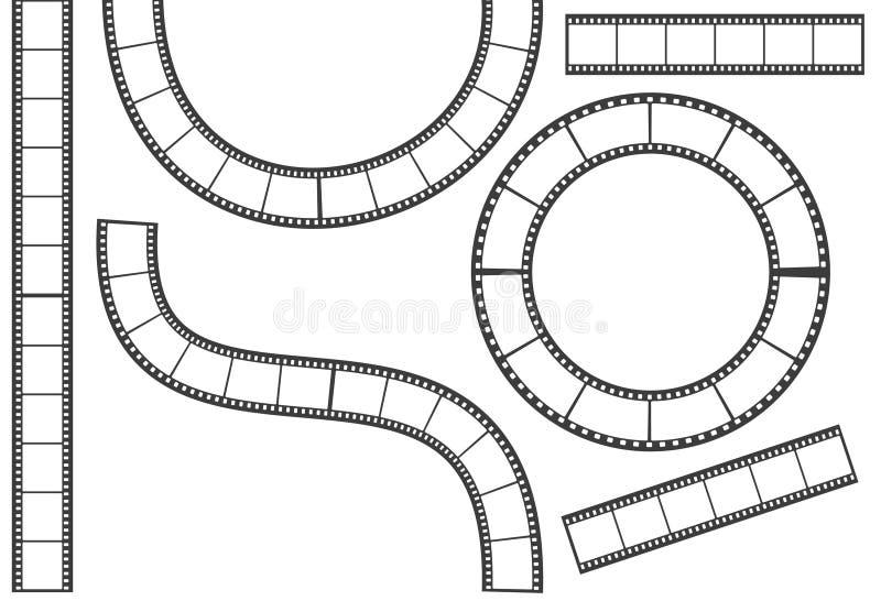 Нашивка пленки иллюстрация вектора
