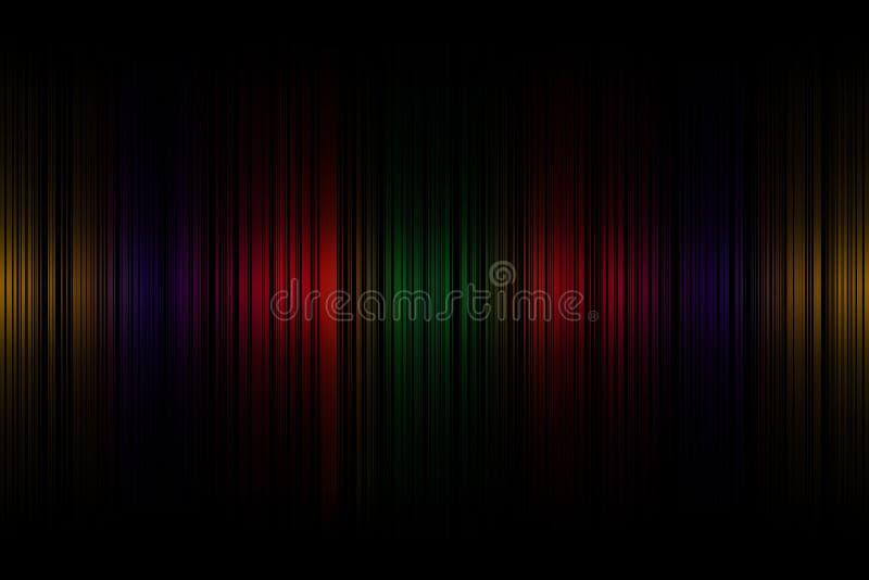 Нашивки предпосылка светлого движения абстрактные, обои фона иллюстрация штока