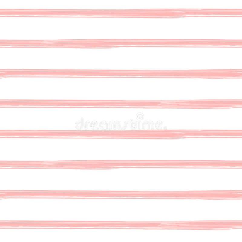 Нашивки Brushstroke, безшовная картина иллюстрация вектора