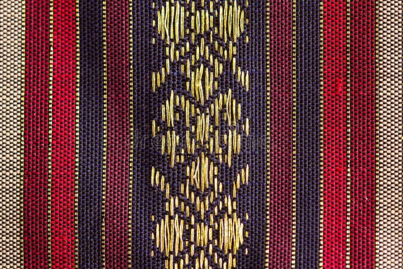 Нашивк-конструированный тайский шелк стоковая фотография