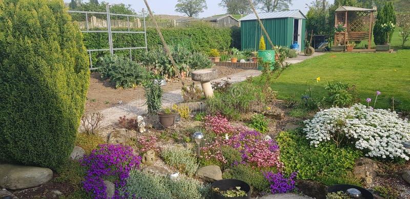 Наш сад семьи стоковая фотография rf