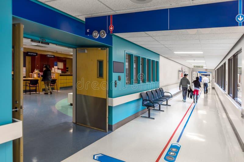 На больнице стоковое фото rf