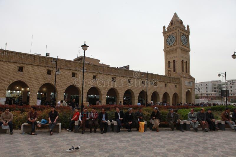 На взгляде Erbil, Ирак стоковое изображение