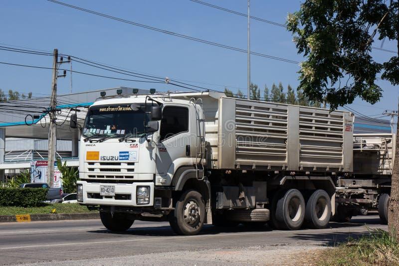 На дороге никакой 1001 8 km от зоны предпринемательства Chiangmai стоковое изображение