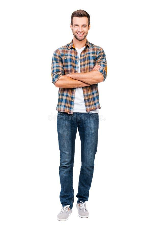 Надежный парень стоковая фотография rf