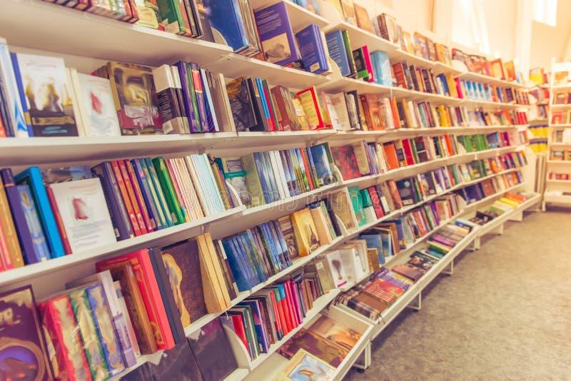 На книжном магазине стоковые изображения rf
