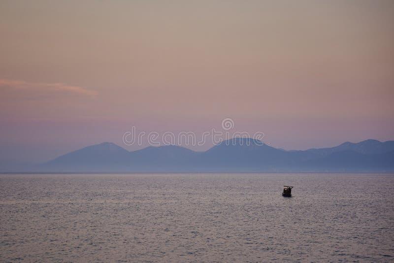 На море стоковое изображение rf