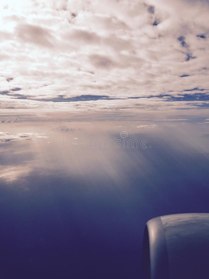 На небе стоковое изображение rf