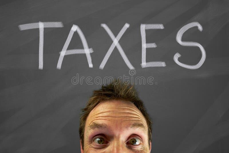 Налоги стоковое изображение