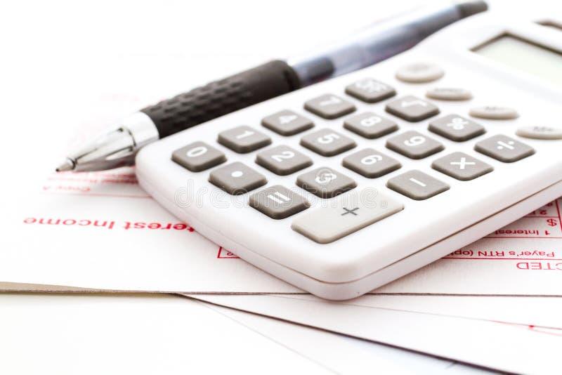 Налоговая декларация стоковое фото