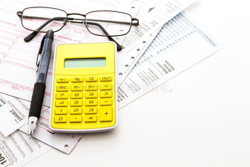 Налоговая декларация стоковое фото rf