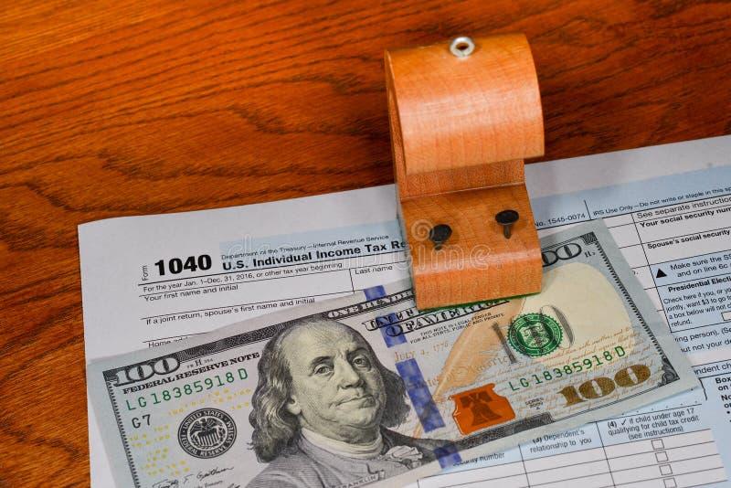 Налоговый прием стоковое фото