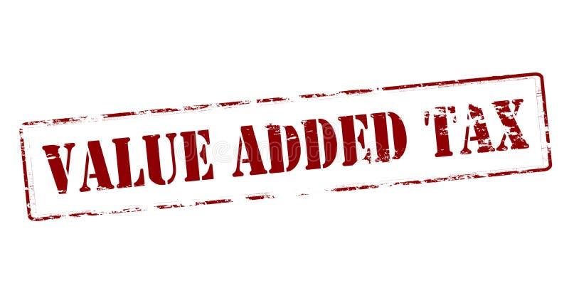 Налог на добавленную стоимость иллюстрация штока