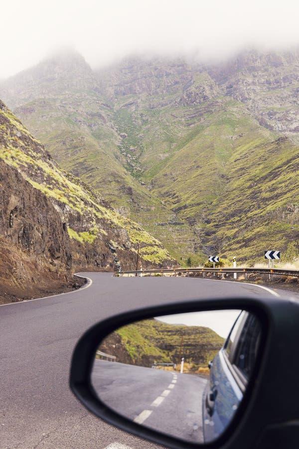На дороге - острове Gran Canaria стоковые изображения rf