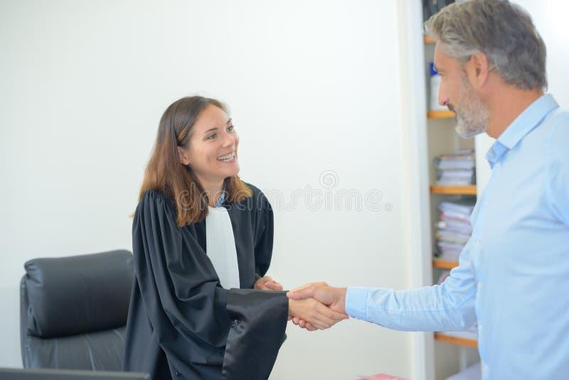 На офисе юриста стоковая фотография