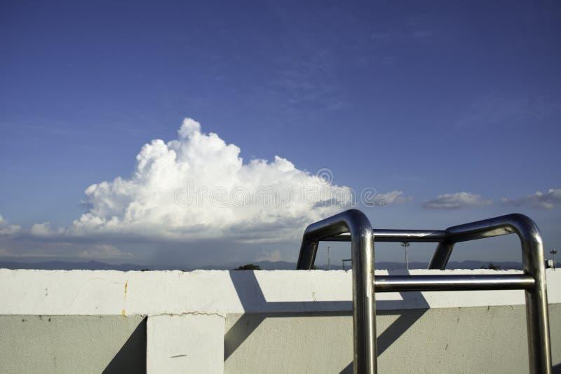 На палубе стоковая фотография rf