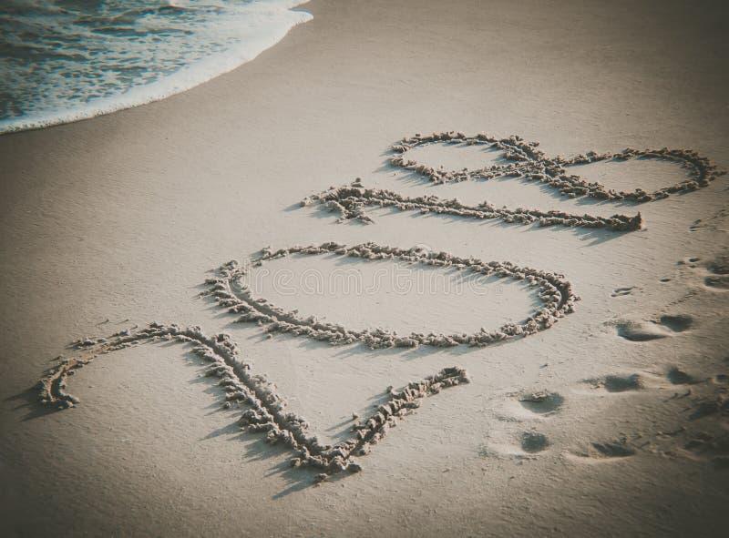2018 на пляже стоковая фотография rf