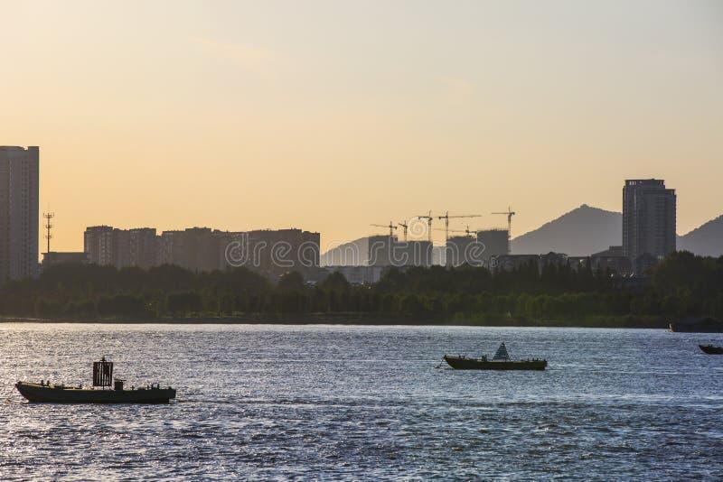 На Реке Янцзы стоковое изображение rf