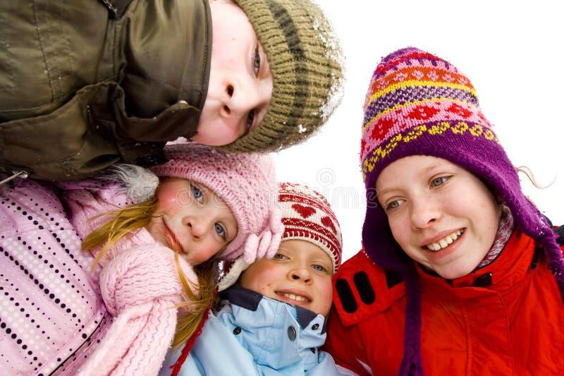 На снежке стоковая фотография rf