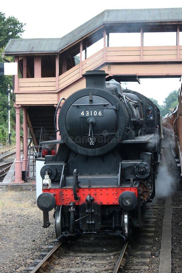 43106 на станции Бьюдли, Железнодорожная линия Северн-Валли стоковые изображения rf