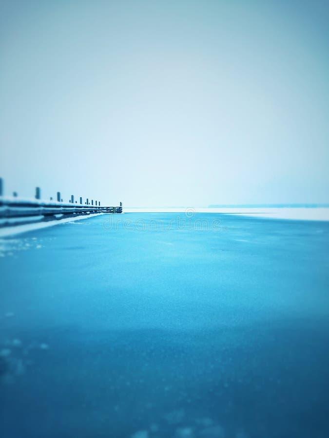 На тонком льде 2 стоковые фото