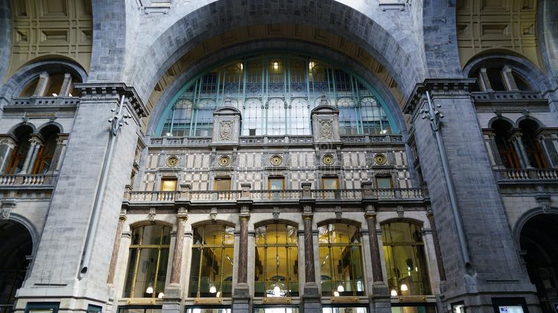 На центральном вокзале стоковое фото rf