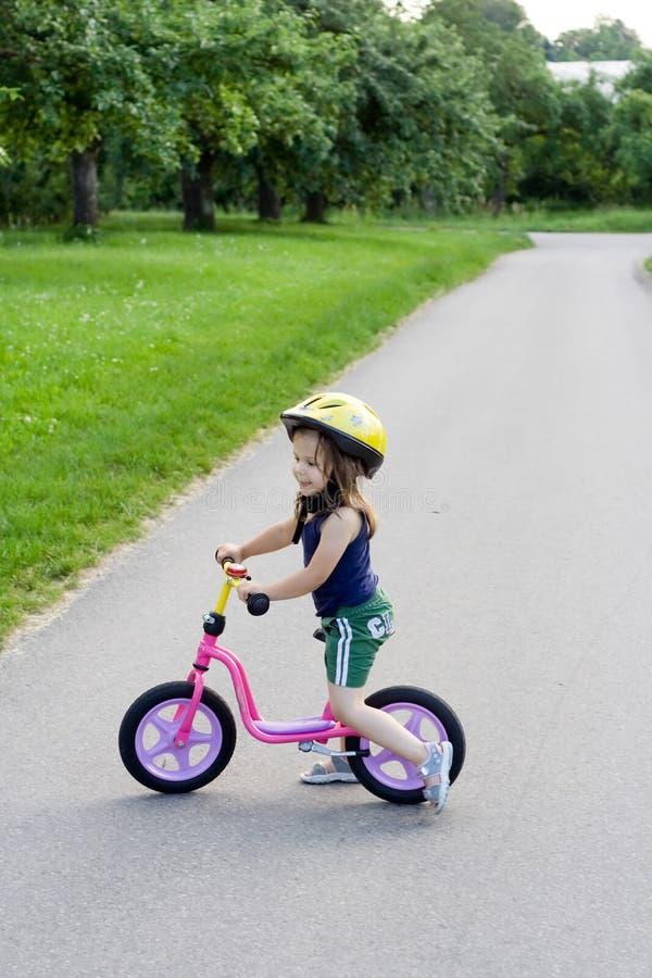 На bike стоковое изображение rf