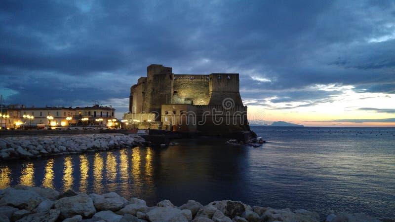Неаполь, Италия, маска pulcinella стоковые изображения rf