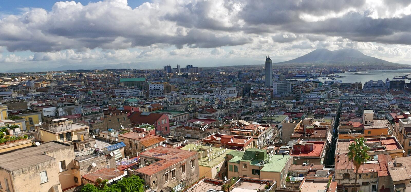 Неаполь стоковая фотография rf