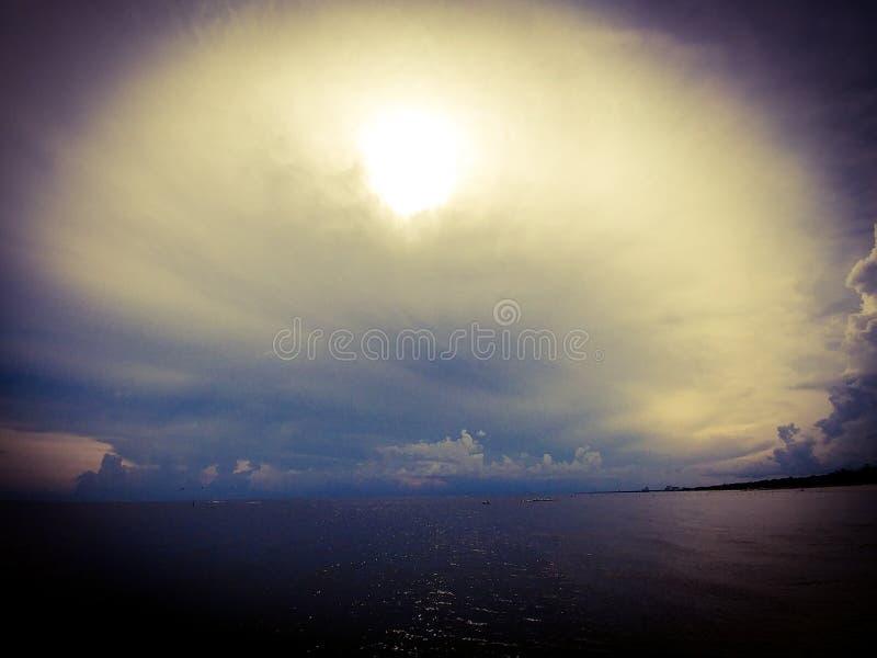 Небеса падения стоковое изображение