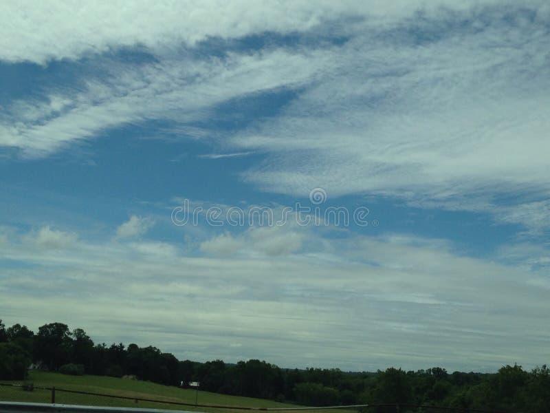 Небеса син стоковое изображение rf