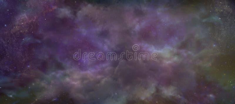 Небесная предпосылка ночного неба стоковое изображение rf