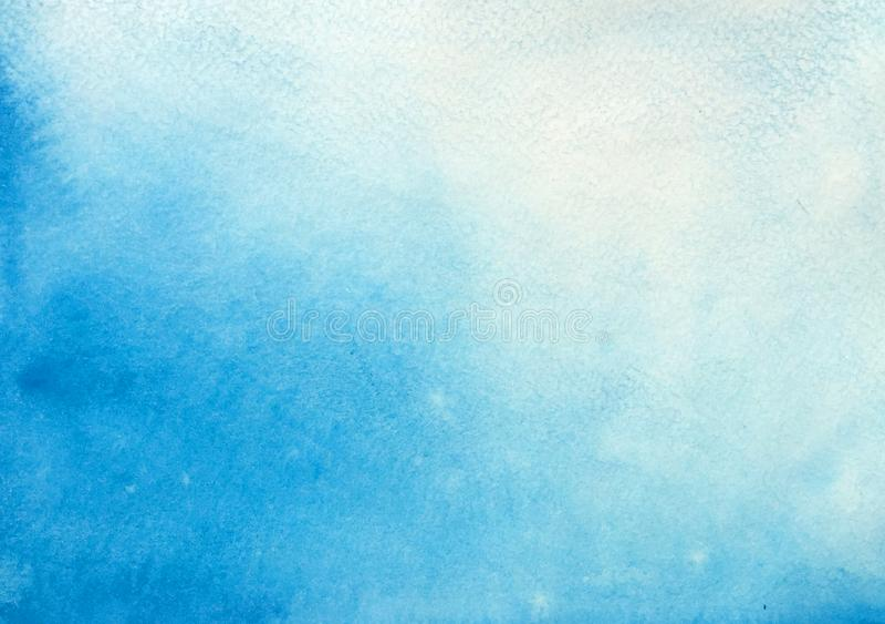 Небесно-голубая предпосылка иллюстрация вектора