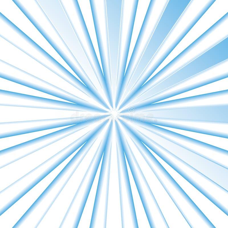 Небесно-голубые лучи бесплатная иллюстрация