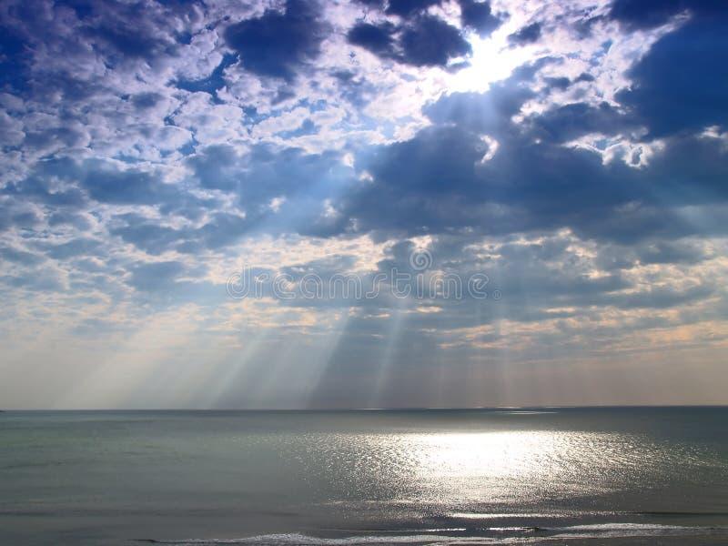 небесный свет стоковое фото