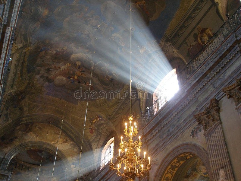 Небесный свет стоковое изображение