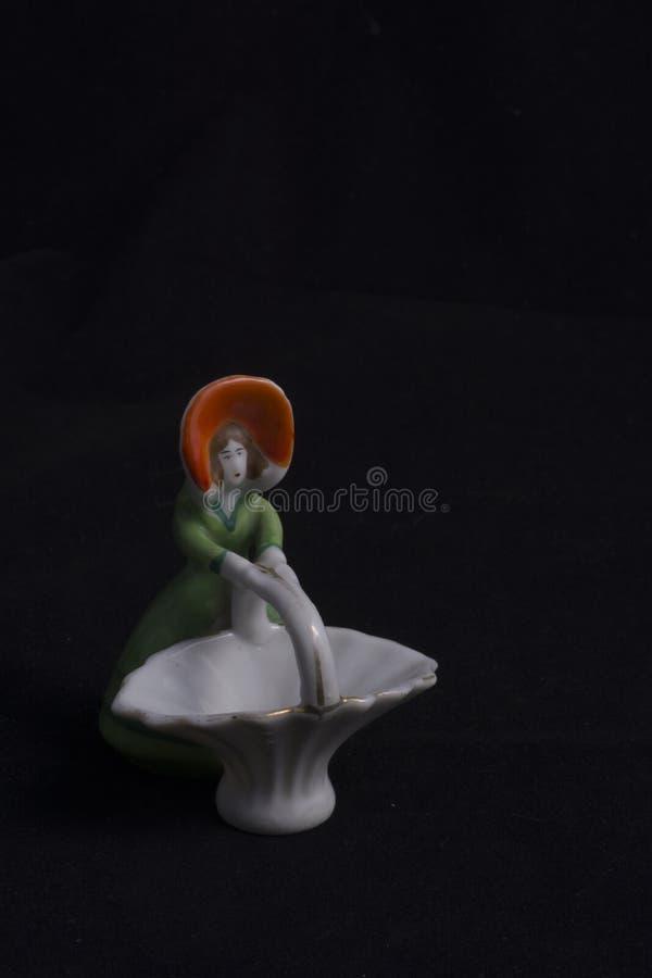 Небольшой старомодный figurine стоковые фото