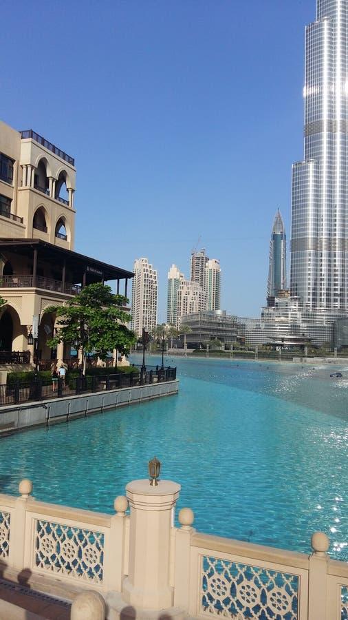 Небоскребы города Дубай стоковое изображение