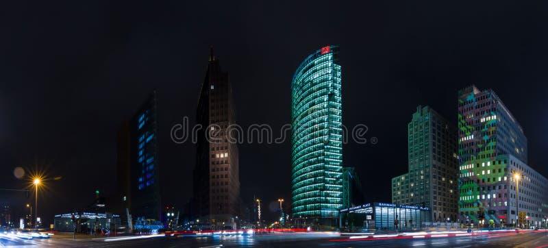Небоскребы на Potsdamer Platz стоковые изображения