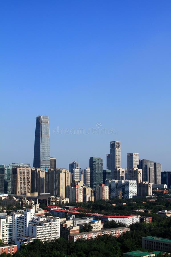 Небоскребы Пекин стоковое фото rf