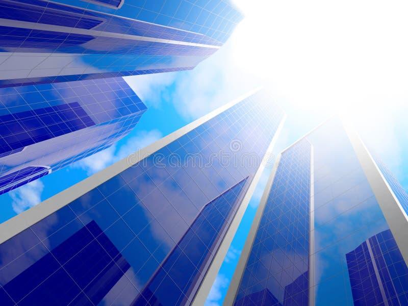 небоскребы стоковое изображение