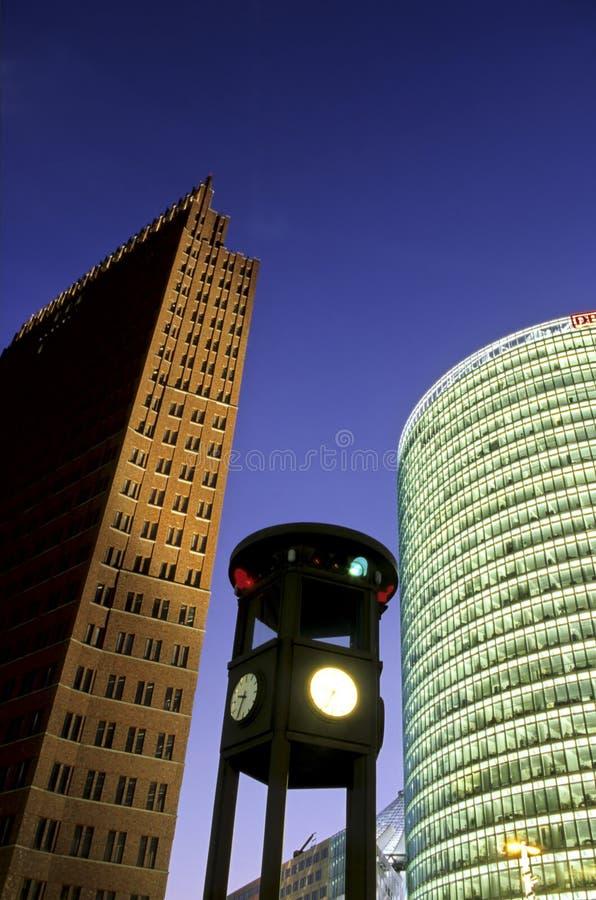 небоскребы berlin Германии стоковая фотография rf