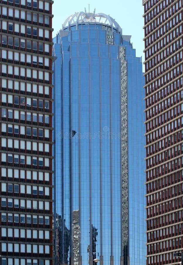 небоскребы boston стоковая фотография