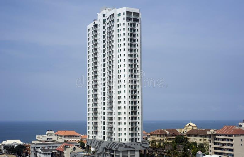 небоскребы colombo стоковая фотография