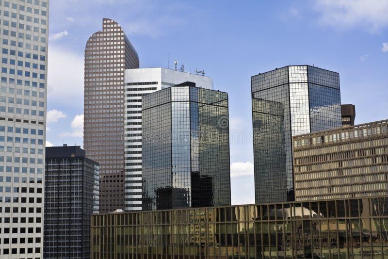 небоскребы denver стоковое изображение rf