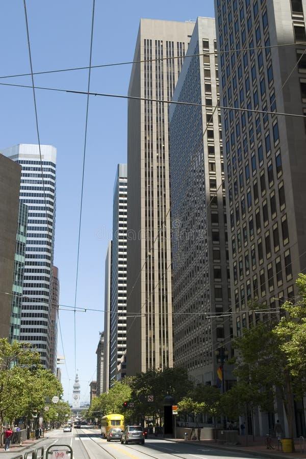 небоскребы francisco san стоковое фото rf